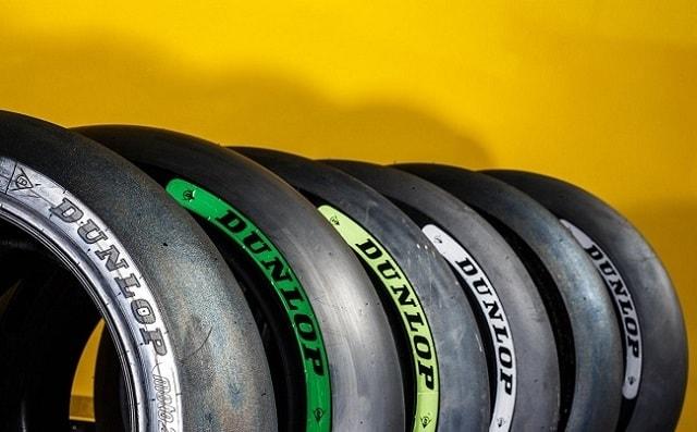 Vỏ xe Dunlop đường đua